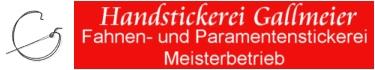 Handstickerei Gallmeier - Stickkurse - Paramente, Fahnen, Trachten und Tischwäsche in meisterhafter Ausführung